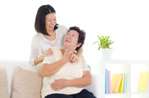 Angeline Ang Providing companionship to the elderly clients  CaregiverAsia: Book Now