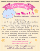 Salfiza MD Babysitting with Miss Fifi - For children age 1 to 5 years old. CaregiverAsia: Book Now