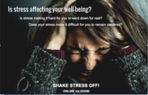 Wendy  . Shake Stress Off! (Individuals and Couples) CaregiverAsia: Book Now