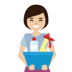Female cleaner avatar