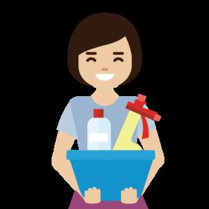 Female cleaner avatar