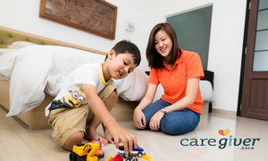 Celine Lo 10+ experience with kids, love kids a lot. CaregiverAsia: Book Now